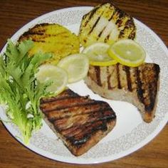 Grilled Tuna Steaks on BigOven: Try this recipe for Grilled Tuna Steaks, or post your own Grilled Tuna Steaks recipe