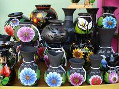 Barro Negro Y Barro Natural De Oaxaca De Juarez - Oaxaca - Arte - Cuadros - Antigüedades