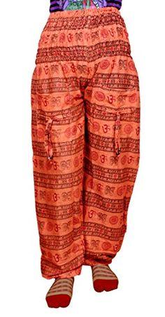 Krishna Mart Cotton Holy Om Print Boho Gypsy Trousers Pants Lounge Wear Krishna Mart India http://www.amazon.com/dp/B00T68Z6JM/ref=cm_sw_r_pi_dp_.mSAvb1B6JG72