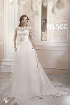 Свадебное платье, Свадебная коллекция 2015, Wedding dress, bride, bridal, fashion, boda Dream Dress, Wedding Dresses, Fashion, Sleeved Wedding Dresses, Bride Dresses, Moda, Bridal Wedding Dresses, Fashion Styles, Weeding Dresses