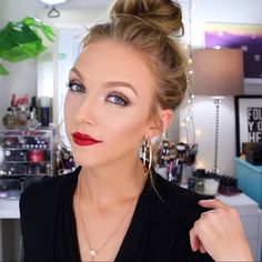 Love how @makeupbyalli used Maybelline to create this bold and glamorous holiday beauty look. Get the look on her YouTube channel.