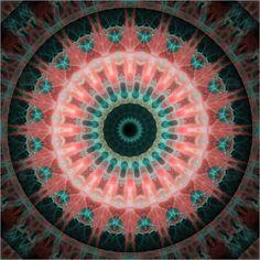 Mandala Indien 2 Poster von Christine Bässler