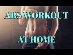 ABS WORKOUT AT HOME/9 MIN/LOSE BELLY FAT - YouTube Ab Workout At Home, At Home Workouts, Fitness Pics, Workout Pictures, May 7th, Lose Belly Fat, Pilates, Abs, Youtube