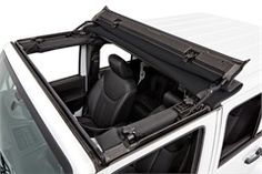 Jeep Sunrider for Hardtop for Jeep Wrangler JK in Black Twill by Bestop AllThingsJeepcom's New Jeep Gear – Car Picture Galleries Wrangler Jeep, Jeep Rubicon, Jeep Jku, Hummer H3, Jeep Wrangler Accessories, Jeep Accessories, Sahara Jeep, Offroad, Jeep Gear
