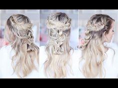 Mixed Braid Half Up| Cute Girls Hairstyles