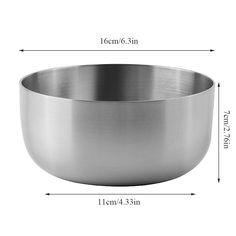 YANG WU Stainless Steel Bowl, Oversized Heavy Double-Layer Brushed 304 Stainless Steel Mixing Bowl, Suitable for All Kinds of Food Storage and Mixing ... (This is an affiliate link) #mixingbowls