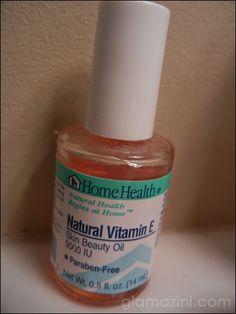 Use Vitamin E to fade hyperpigmentation