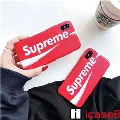 シュプリーム スマホカバー スマホケース supreme ケース icase8 ブランド iphone8 iphoneX