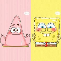 Spongebob and patrick, Best Friends