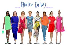 NYFW SS14 Trend Report : Electric Colors  Ambitieuse blog