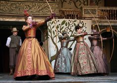 Love's Labours Lost at the Globe. One of my favorite plays, would have loved to have seen it in London!