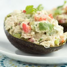 This quick and easy recipe for Avocado Tuna Salad is light and so very yummy. You can dress it up [...]
