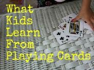 A card game that even little kids can learn and enjoy...and they get to work on letters and numbers at the same time!