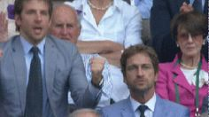 The Sexy Bradley Cooper And Gerard Butler Enjoyed Their Time At Wimbledon