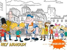 Who could ever forget the little blonde haired football-head shaped kid? Hey Arnold was a huge hit for kids on Nickelodeon in the late 90's. I remember being so excited to come home from school/summer school because it was the perfect time of day when they would show back to back episodes