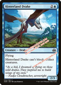 Hinterland Drake.xlhq Magic the Gathering Proxy mtg proxies cards all available from $0.37 visit www.mtg-proxies-cards.com email vmvtvg@outlook.com