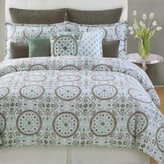 bedding | Bedroom | Pinterest | Gray green, Comforter and Teal : max studio home quilt set - Adamdwight.com