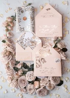 Some awesome DIY Wedding Invitation Cards. Easy and affordable, these handmade wedding invitations will make your guests excited for the ceremony. Invitations Quinceanera, Glitter Wedding Invitations, Handmade Wedding Invitations, Gold Wedding Invitations, Wedding Stationery, Wedding Cards, Diy Wedding, Dream Wedding, Wedding Ideas
