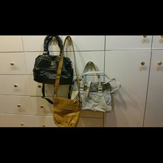 Sets of 3 handbags 3 differnt styles of handbags, not leather unknown Bags Shoulder Bags