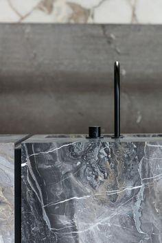 Concept kitchen by Dieter Vander Velpen Architects #kitchen #marble #black Via http://bit.ly/tdwalker