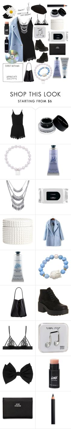 """""""And my pride is the one to blame."""" by soher-xx ❤ liked on Polyvore featuring Topshop, Bobbi Brown Cosmetics, Anne Klein, Crabtree & Evelyn, Wet Seal, MAC Cosmetics, H&M, JVL, Devoted and 3.1 Phillip Lim"""