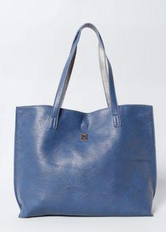 Pebble Vegan Leather Tote & Crossbody Bag
