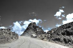 Steep Road to the Waterfall of Faifah