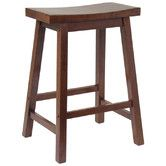 "Found it at Wayfair - 24"" Bar Stool. Great price. Do you think it would be hard to make cushions for these?"