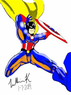 captain America/space ghost