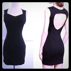 Express Little Black Dress  Express Little Black Dress  - size 10 - hugs all the right places with an open back and ideal length for any occasion. Sleeveless Sheath dress. Dress up w/ heels or down with flats ❤️ - worn a less than a handful of times and in great condition ☺️ Express Dresses