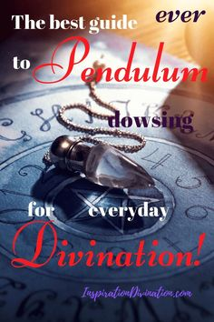 Pendulum Dowsing is a must for everyone interested in Divination. Here is the complete guide to Pendulum dowsing for everyday Divination! Spiritual Enlightenment, Spiritual Guidance, Spiritual Wisdom, Spiritual Awakening, Spiritual Growth, Spiritual Thoughts, Spiritual Healer, Psychic Development, Spiritual Development