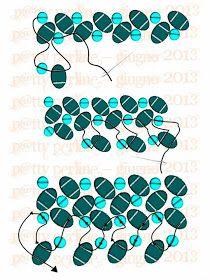 P@tty Perline: Superduo Herringbone Texture.  ~ Seed Bead Tutorials