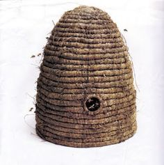 Vintage Bee Skep  http://triciafoleytheperfectthing.blogspot.com/2011/06/bee-skep.html