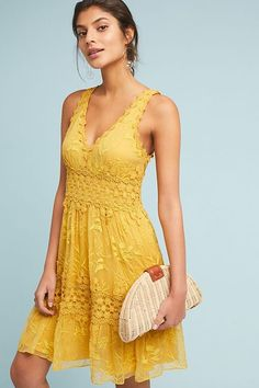 cb8e548c57b0 Veronica Lace Midi Dress. Anthropologie. Marie ClaireDress SummerCasual  Summer DressesFlowy ...
