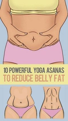 10 Powerful Yoga Asanas To Get Rid Of Belly Fat.