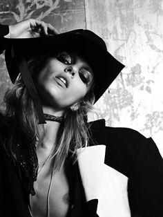 Anja Rubik | Hedi Slimane #photography | V Magazine May 2011