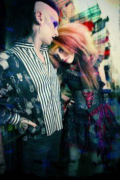 988de07c25bc La Carmina, Goth alternative fashion model: cover of Dark Beauty Magazine!