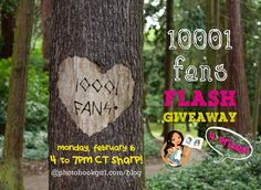 Flash Giveaway! TODAY ONLY 2.16.15 from 4pm to 7pm Central Time! Enter for a chance to win one of 4 photo book prizes worth $70 each!