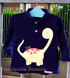 Camiseta dinosaurio Iker