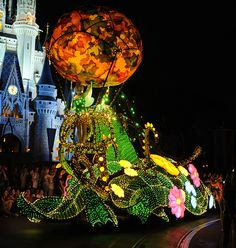 This Week in Disney Parks Photos: A Look at Main Street Electrical Parade