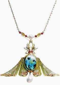 Philippe Wolfers Art Nouveua Jewelry.