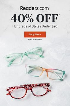 Shop men's and women's reading glasses, bifocals, computer readers, & reading sunglasses. styles and hard-to-find powers now off for a limited time! Top Reads, Computer Glasses, Reading Glasses, Eye Glasses, Physical Activities, Man Shop, Blood Sugar, Tailgating, Nice Things