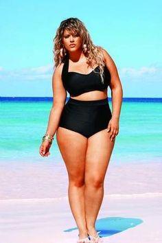 a585e72858c Best bikini for curvy girls! I need this! Curvy Girl Bikini