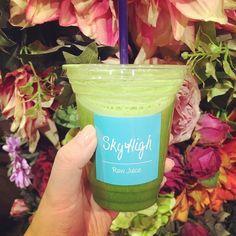 Having a Raw Juice Break 定番のBasic Green