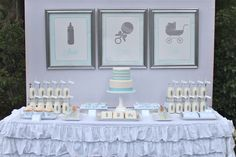 Little Big Company | The Blog: Shake, Rattle and Roll Baby Shower by Jenny from Bloom Designs Online