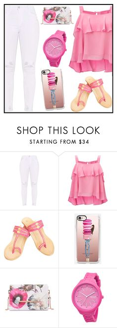 """""""Casetify Giveaway"""" by tlb0318 ❤ liked on Polyvore featuring Miss Selfridge, Casetify, Ted Baker and Rip Curl"""