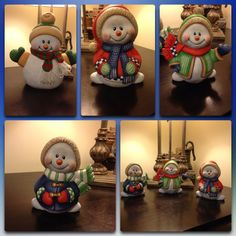 Ceramic Shop, Ceramic Clay, Ceramic Painting, Christmas Clay, Christmas Ornaments, Wood Peg Dolls, Play Clay, Ceramic Bisque, Polymer Clay Creations