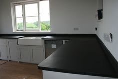 Would be good to have short length -around 90cm - of worktop in slate Also see welshslate.com
