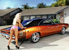 1969 Dodge Charger R/T - did you think i wouldn't save this one😎 American Muscle Cars, Us Cars, Sport Cars, Ford Mustang, Sexy Autos, Hot Rods, Mopar Girl, Dodge Muscle Cars, Car Girls