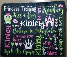 What little girl doesn't want to be a princess?!? With this Princess Training personalized plush fleece blanket with all the princess rules on it with their name, it will be impossible for them not to become a princess and rock the crown! visit theblanketloft.com or theblanketloft.etsy.com to learn how to order your custom made princess training (or Prince training) blanket!  #rockthecrown #Princesstraining #Princesslove #kissafrog